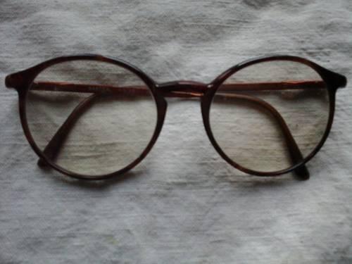 Monture de lunettes ronde en écaille, Marque BASTIEN