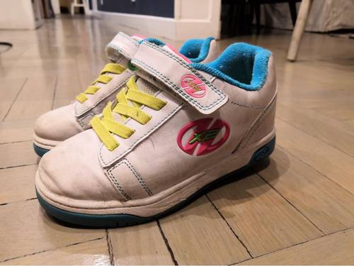 Heelys dual up taille 32chaussures à roulettes