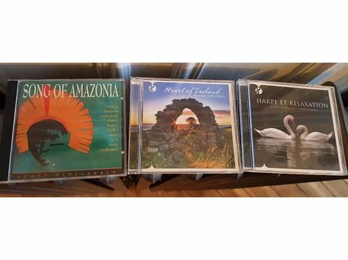 Vends CDs musique de relaxation et d'ailleurs…