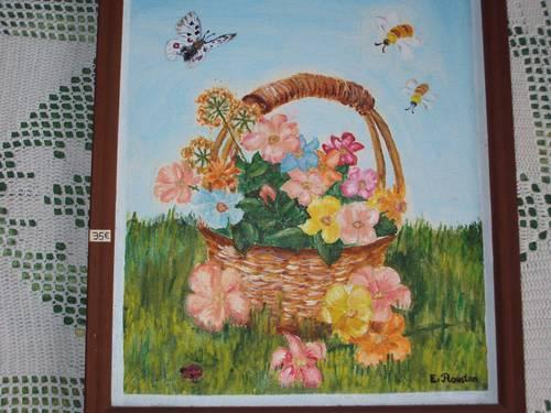 Propose belle peinture originale encadrée