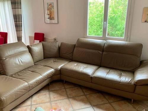 Canapé d'angle 6/7places