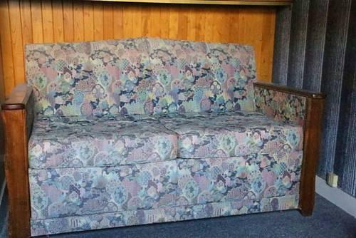 Un canapé-lit
