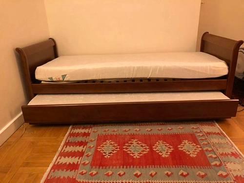 Canapé lit en meurisier