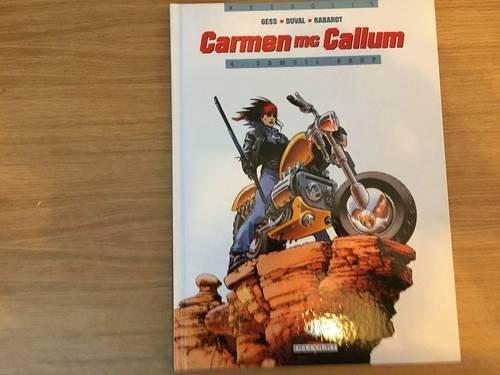 BD Carmen Mac Calhum gess duval ed Delcourt T4