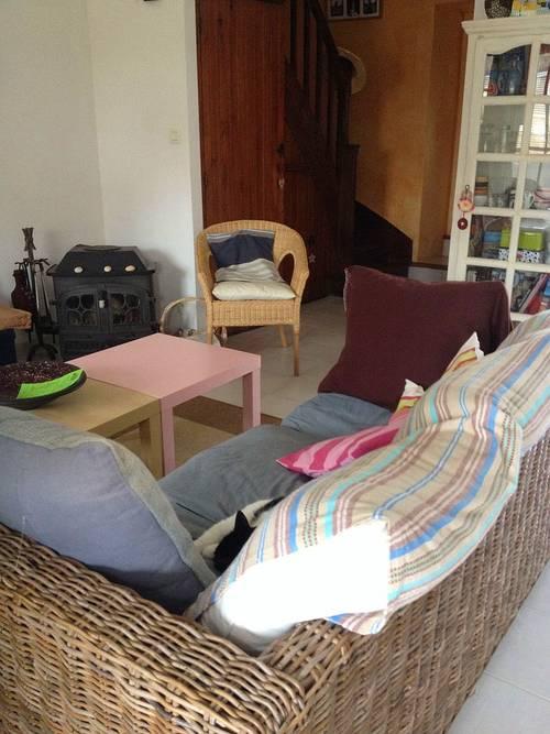 Maison au calme, WIFI, 2Vélos,2chamb, 5couchages, bourg à pied et proche plages, Carnac (56)