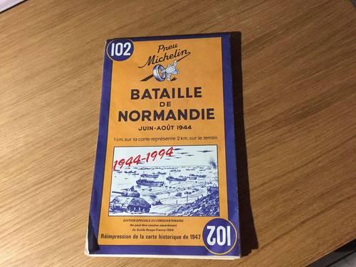 Carte Michelin La Bataille de Normandie
