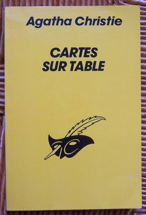 Vends livre cartes sur table - Agatha Christie (très bon état)
