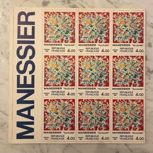 Catalogue exposition Manessier (Musée de la Poste, 1981)