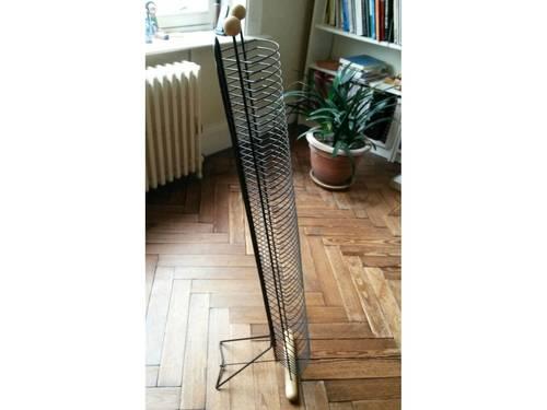 Support rangement 40CD métal et bois