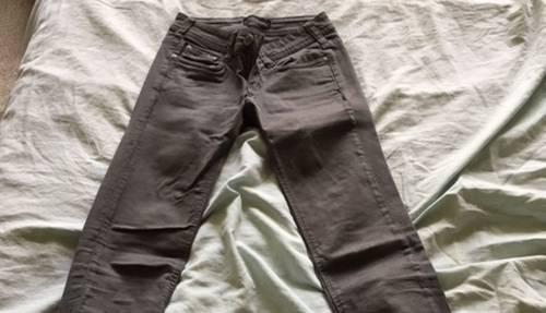Pantalon fille Cimarron gris, 14ans, peu porté