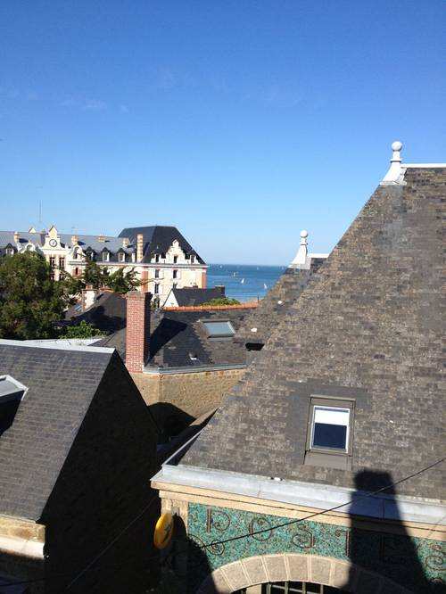 Loue appartement centre Saint-Lunaire (35) 6-8couchages