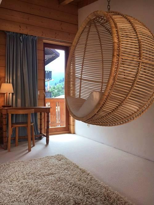 Propose centre de Morzine (74) grand appartement indépendant avec jardin 3chambres - 100m² - 8couchages