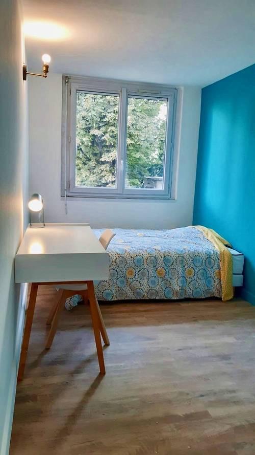 Loue 2chambres meublées - T465m², Villeurbanne centre (69)