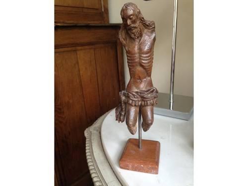Propose Christ Bois sculpté très ancien XVe