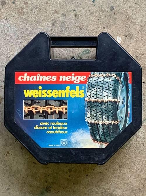Chaines neige neuves