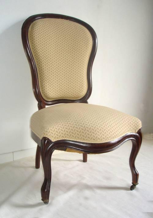 Chaise-Chauffeuse d'époque Louis Philippe 1870