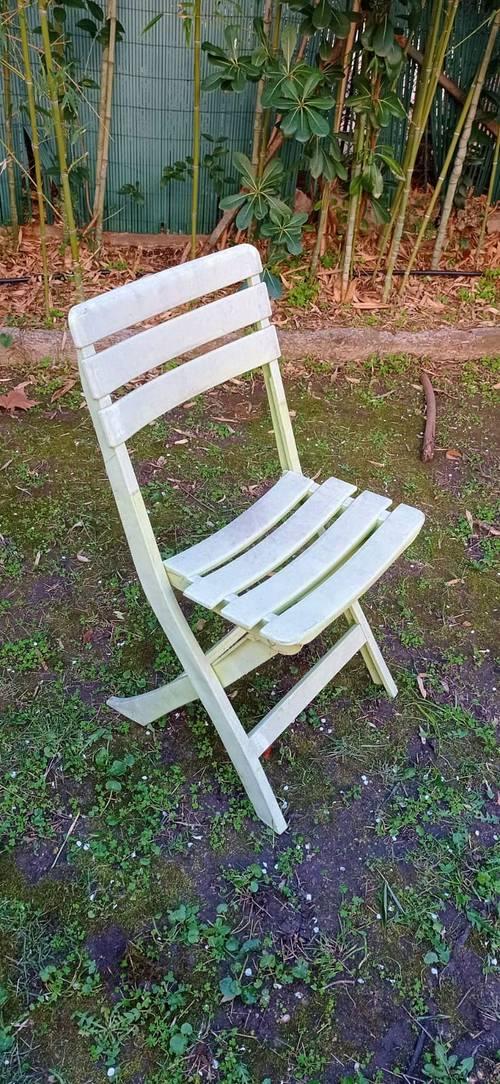 Chaise de jardin pliable