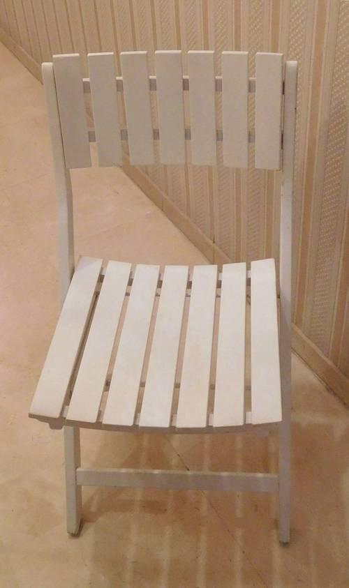 Deux chaises de jardin