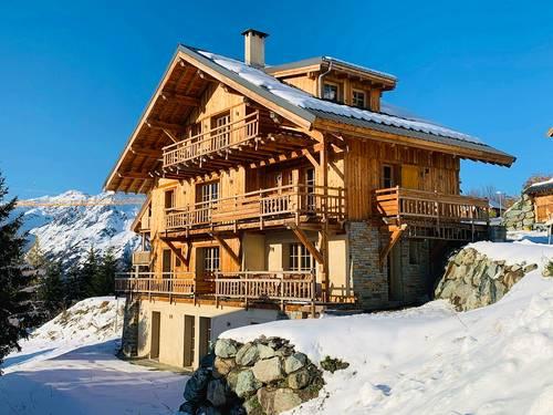 Loue chalet luxe 4et 5chambres, 11et 12couchages-Domaine Alpe d'Huez, Villard-Reculas (38)
