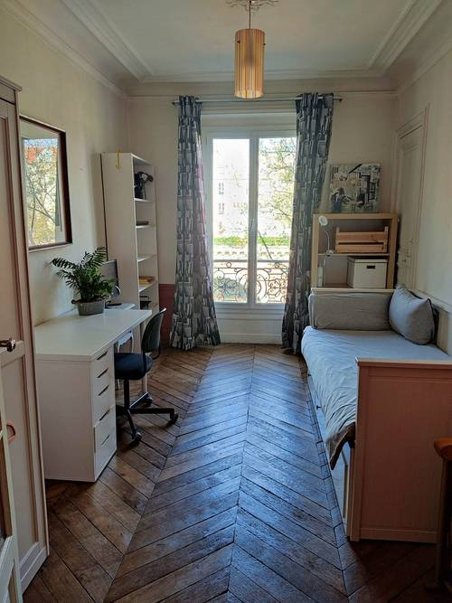 Loue chambre occasionnellement dans appartement habité - 1couchage - Paris 12ème
