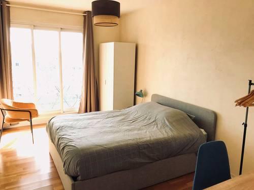 Loue chambre meublée de 12m², la Doua, 2autres colocataires - Villeurbanne