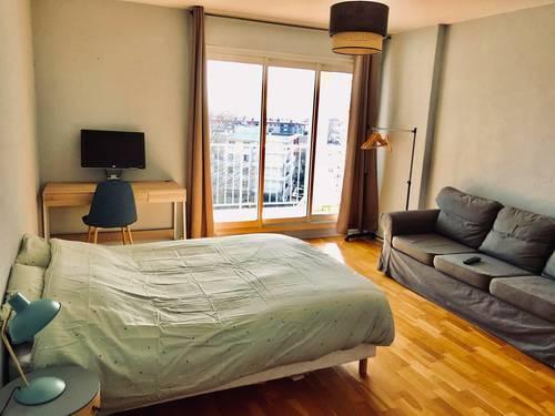 Loue chambre meublée de 18m², la Doua, 2autres colocataires - Villeurbanne (69)