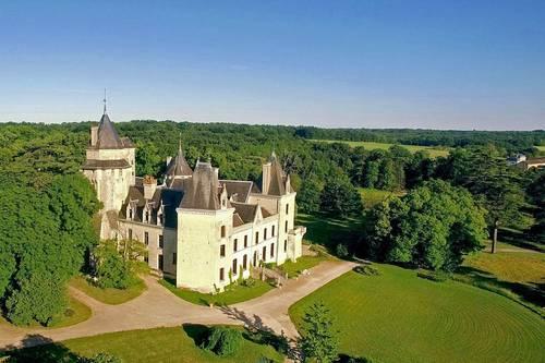 Chambres d'hôtes dans un château du Val de Loire (12couchages)