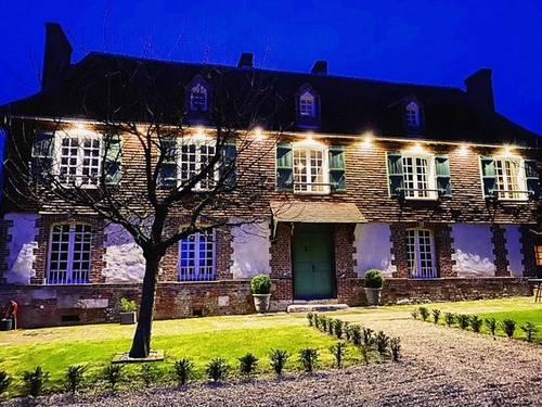 Propose 2chambres d'hôtes de luxe dans manoir normand du XVIIème, 4couchages, Caudemone (14)