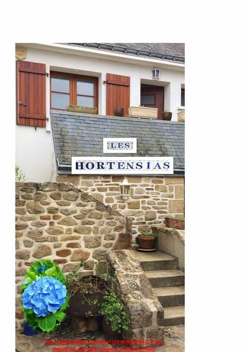 Loue propriété, espace nuit 2couchages - Les Hortensias