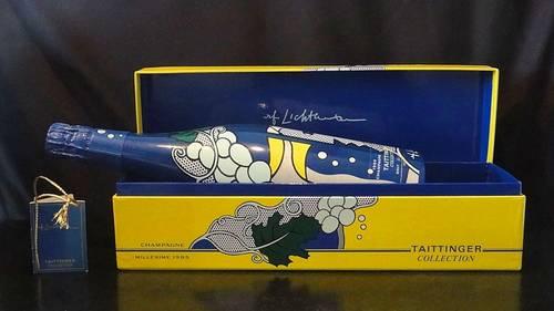 Vends 1bouteille de Champagne Taittinger Collection 1985Lichtenstein