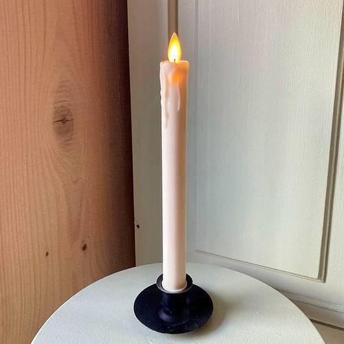 Chandelle Led en Cire à flamme oscillante pour bougeoir et chandelier