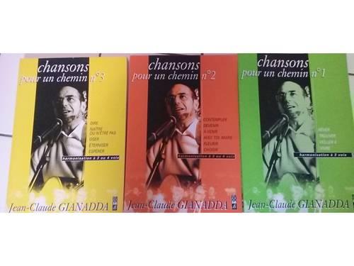 """Chants chrétiens """"Chansons pour un chemin"""" de JC Gianadda vol 1,2et3"""