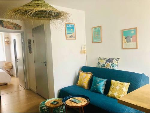 Loue charmant appartement, 1chambre, 4couchages cœur Biarritz (64)