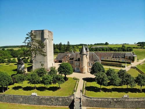 Loue château de Mazières en Berry, centre Val de Loire - Tendu (36) - 300invités