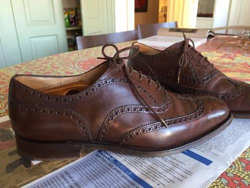 Chaussures Church marron 42
