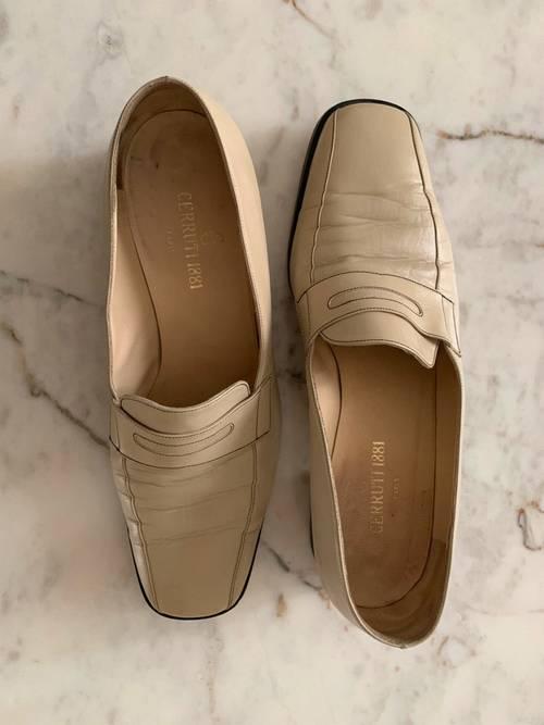 Chaussures crème Cerruti - Pointure 39