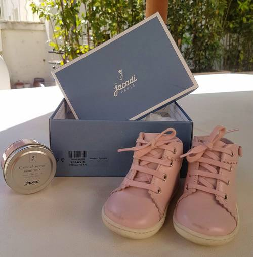 Chaussures Jacadi roses taille 19