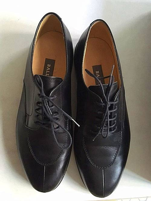 Chaussures cuir noires Bally neuves taille 7,5