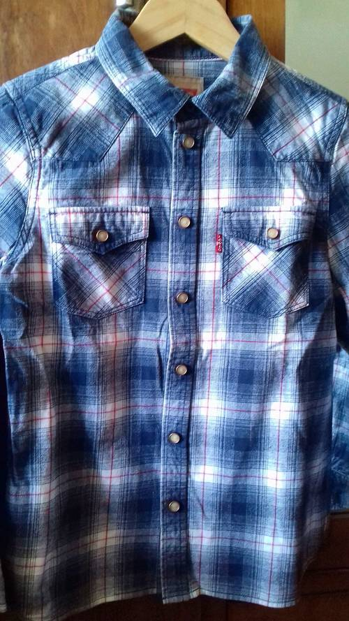 Chemise à manches longues Levi Strauss - Taille 12ans