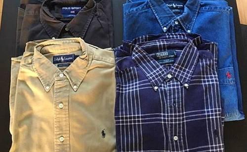 Chemise et Sweat-shirt Ralph Lauren Taille L