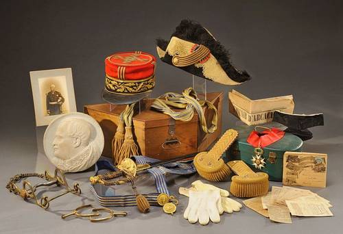 Achats objets militaires