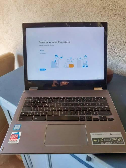 Chromebook Acer 2019parfait état