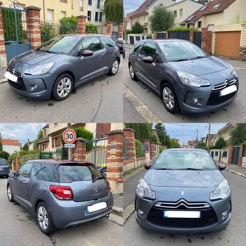 Vends Citroën DS3- Très bon état - 40000km - 2010