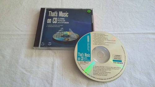 CD classic, populaire, jazz et fusion, Yamaha