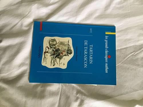 Vends livre colonel Chabert Balzac Tartarin de Tarascon Daudet