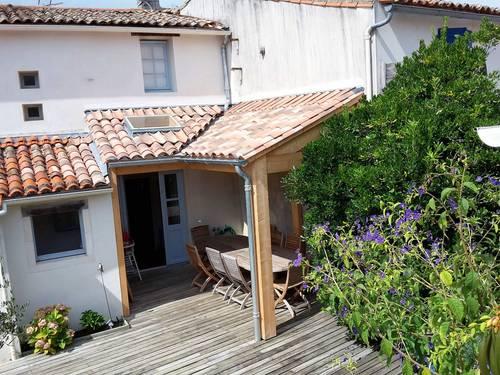 Propose maison charme coeur de La Couarde (17) - 10couchages