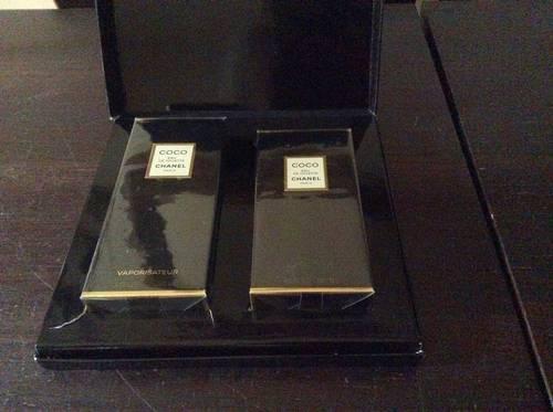 Coffret Coco de Chanel flacon de125ml et vaporisateur de 100ml