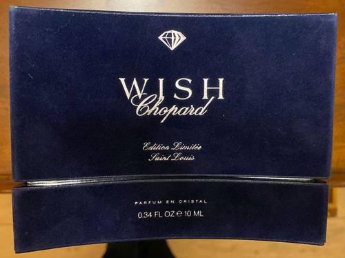 Coffret Chopard Wish Cristal Saint-Louis Edition Numérotée