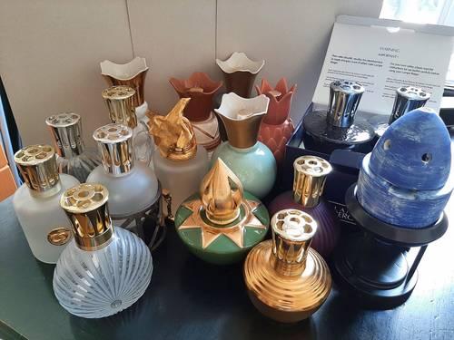 Collection de plusieurs Lampes Berger