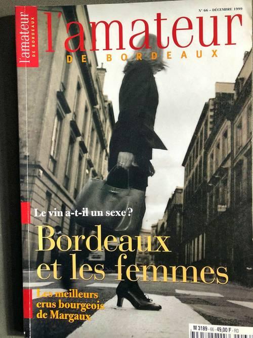 Collection revues l'amateur des vins de Bordeaux